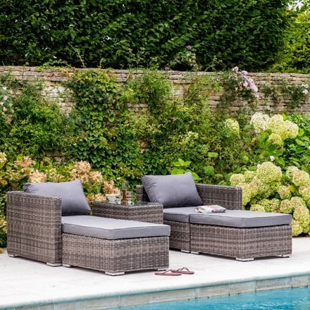 Selborne double lounger set