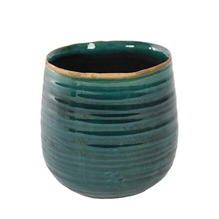 Como pot - turquoise