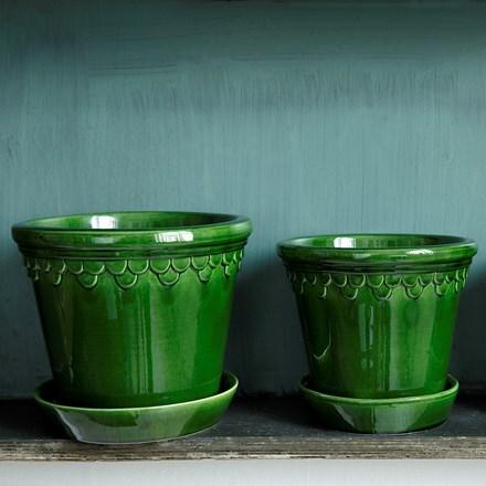 Københavner green emerald pot
