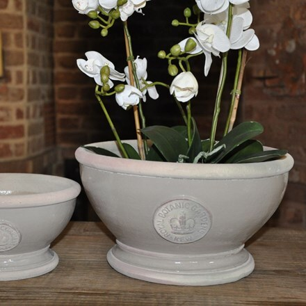 Kew footed bowl - almond