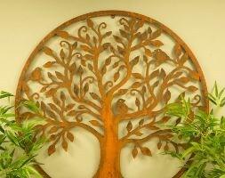 Bird tree wall plaque
