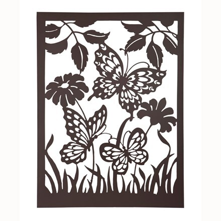 Butterflies wall plaque