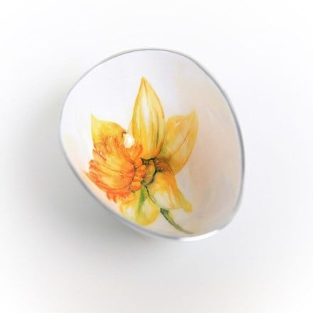 Daffodil oval bowl small