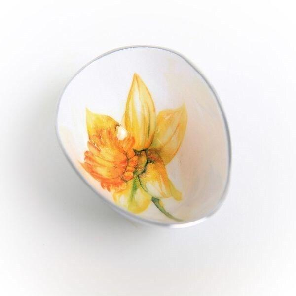 Daffodil oval bowl small