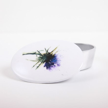 Thistle trinket box