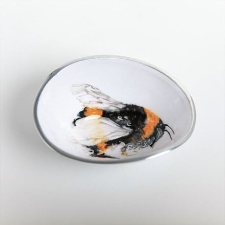 Bee oval bowl petite
