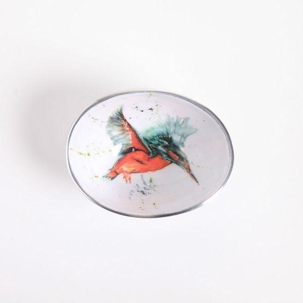 Kingfisher oval bowl petite