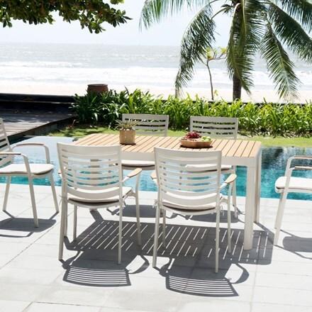 Lifestyle Garden Portals 6 seat dining set