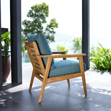 Lifestyle Garden Eve teak armchair with cushions