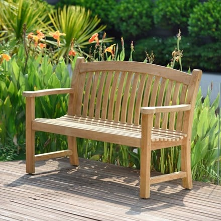 Lifestyle Garden Regal teak bench - 2 seater