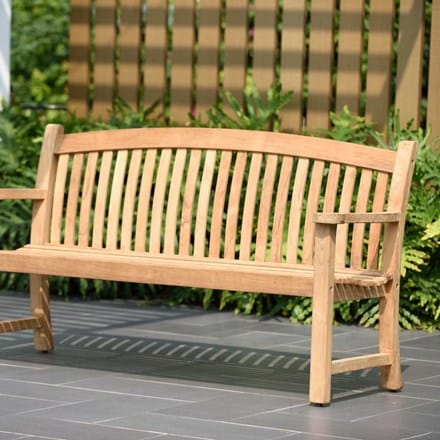 Lifestyle Garden Regal teak bench - 3 seater