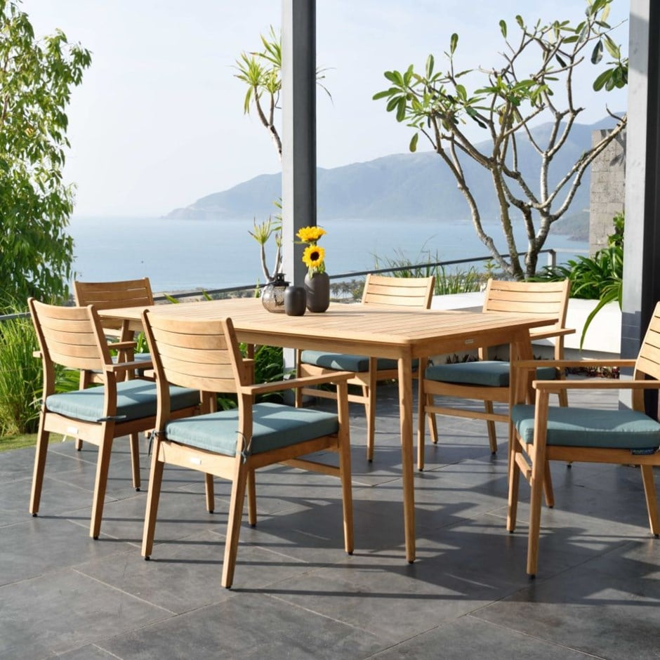 Buy Lifestyle Garden Eve teak 8 seat dining set: Delivery by