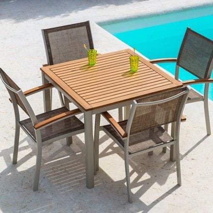 Essence 4 seat dining set