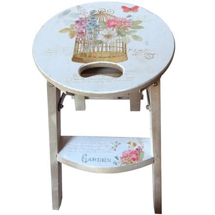 Birdcage step stool