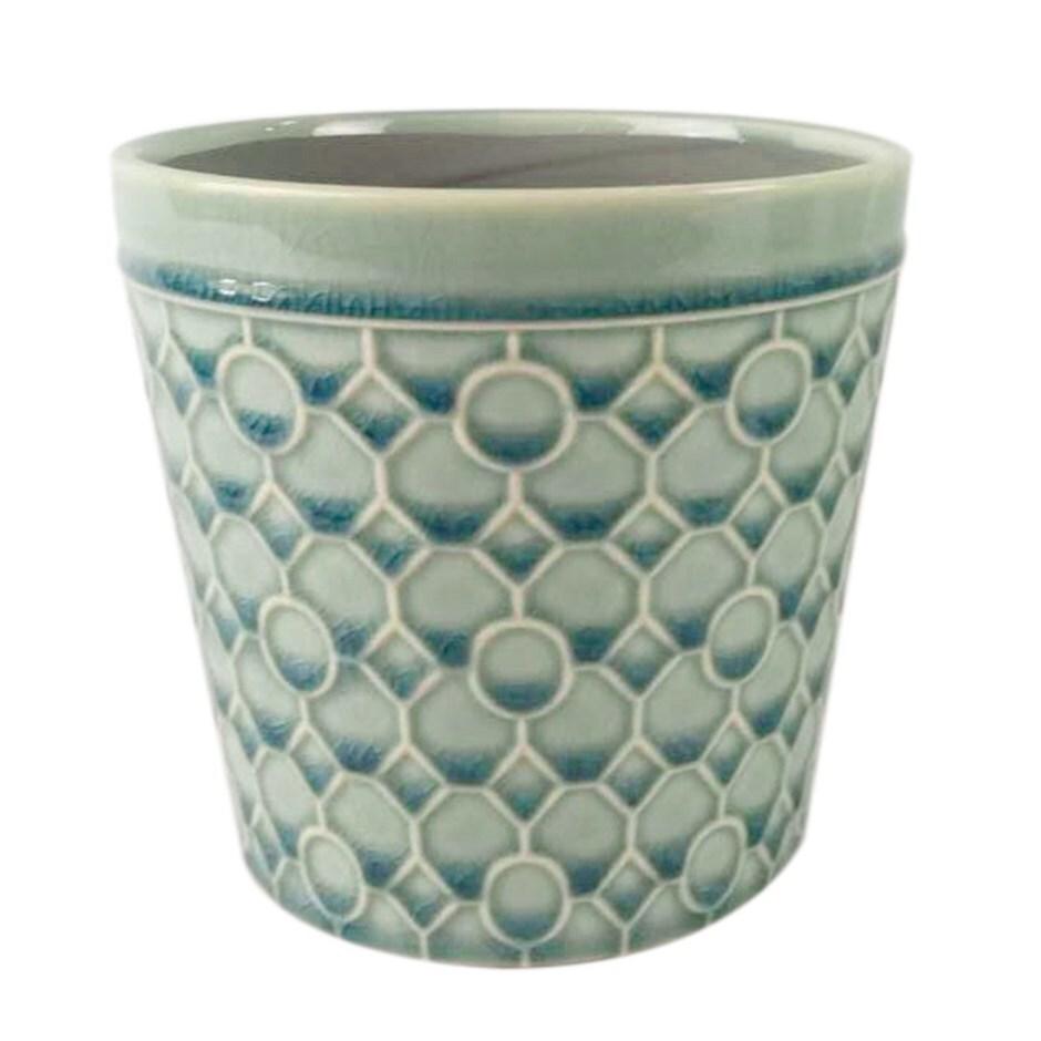 RHS interiors lattice teal cone