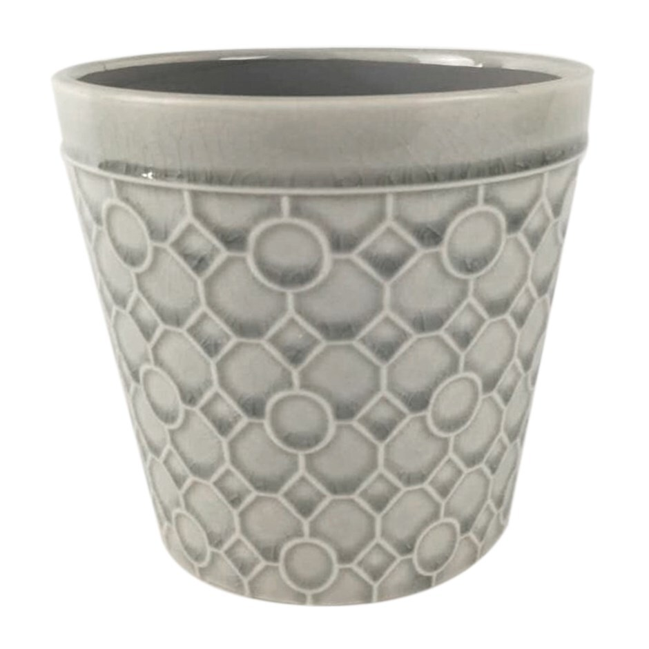 RHS interiors lattice stone white cone