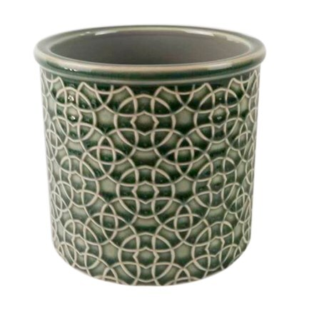 RHS interiors poppy emerald cylinder
