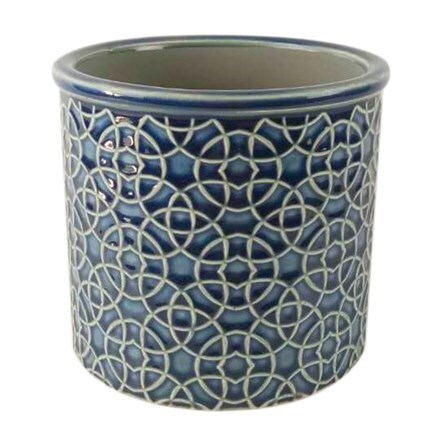 RHS interiors poppy royal blue cylinder