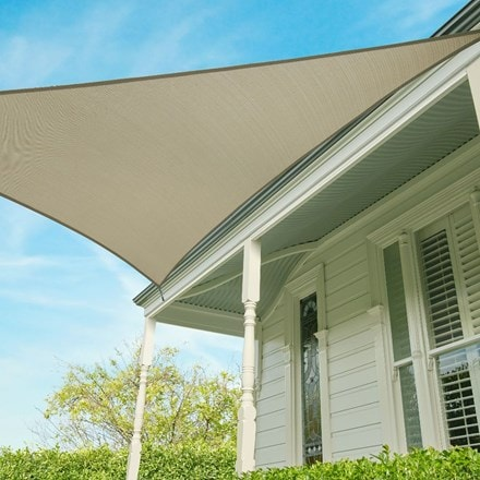 Coolaroo 3.6m triangle shade sail