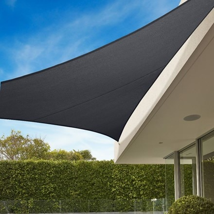 Coolaroo 3m triangle shade sail