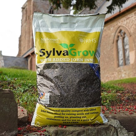 Sylvagrow multipurpose compost added John Innes
