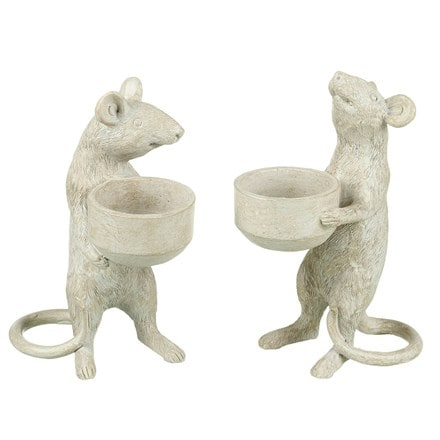 Mouse tealight holder