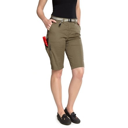 Genus summer gardening shorts burnt olive