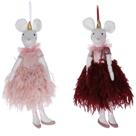 Fabric ballerina mouse