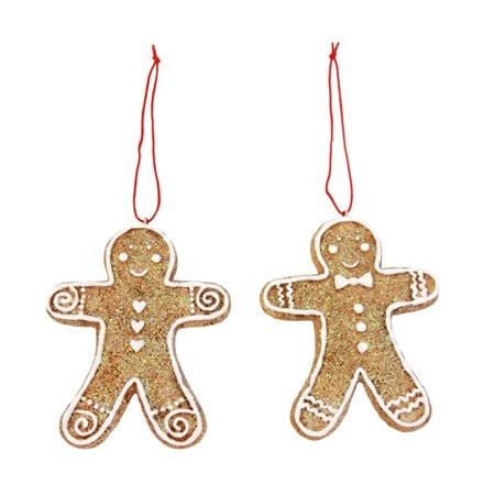 Resin gingerbread man