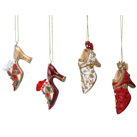 Resin Venetian shoe decoration