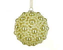 Pearl beaded bauble