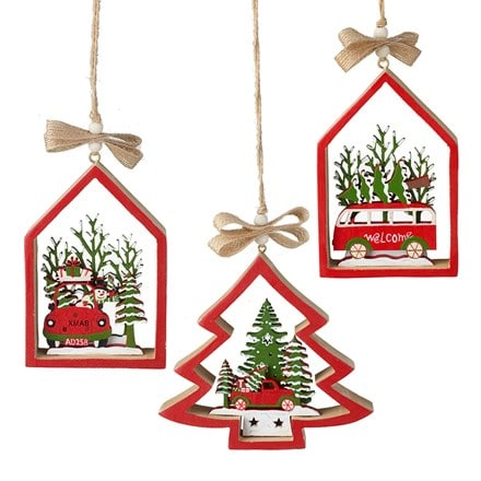 Christmas transport hangers