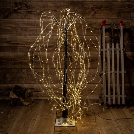 Copper willow tree - 450 lights