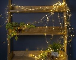 Cascading wire lights - 120 lights