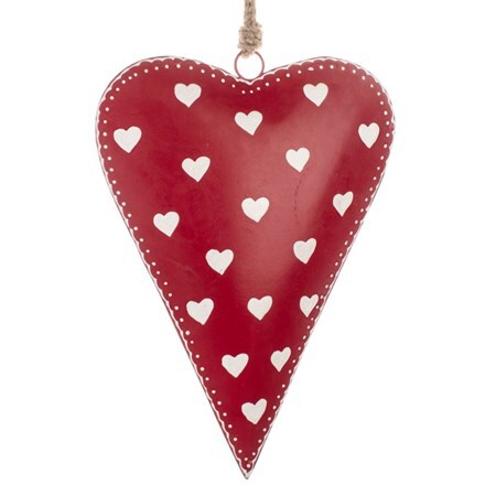 Red heart 23cm