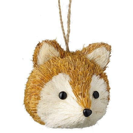 Fox head ornament - 3 left
