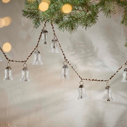 Jai glass bell garland
