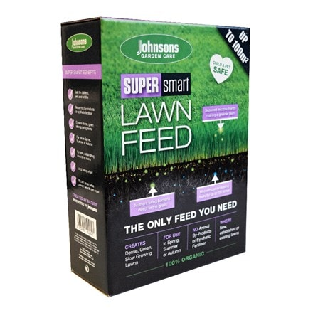 Johnsons super smart lawn feed