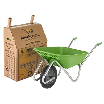 Green Handibarrow wheelbarrow