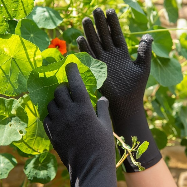 Everyday gardening gloves - charcoal black S-L