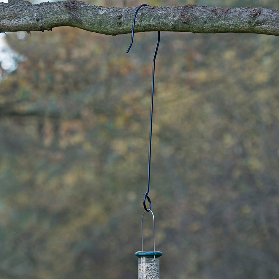 Bird feeder branch hook - two sizes