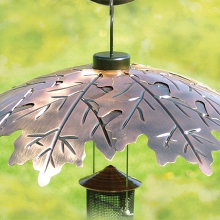 Brushed copper weather shield