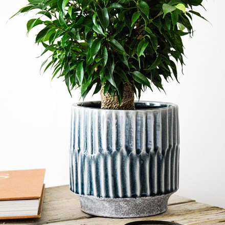 Onno planter denim