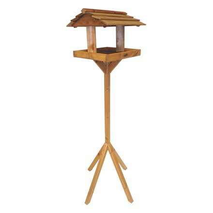 Wooden boxed bird table - Alford
