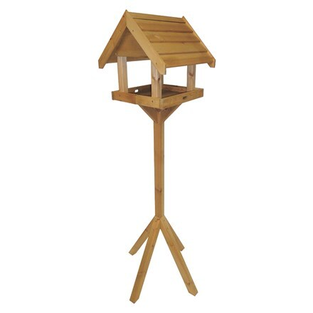 Wooden boxed bird table - Chelmsford
