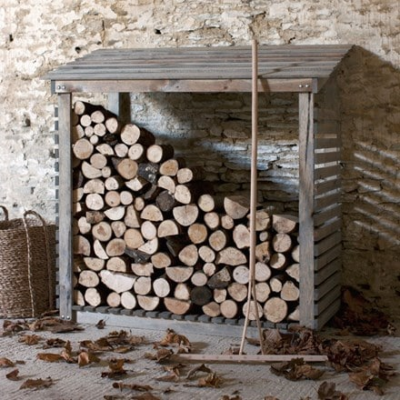 Aldsworth log store - wide