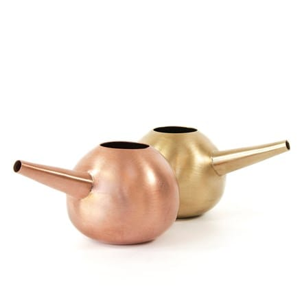 Brass and copper watering hogs - mini
