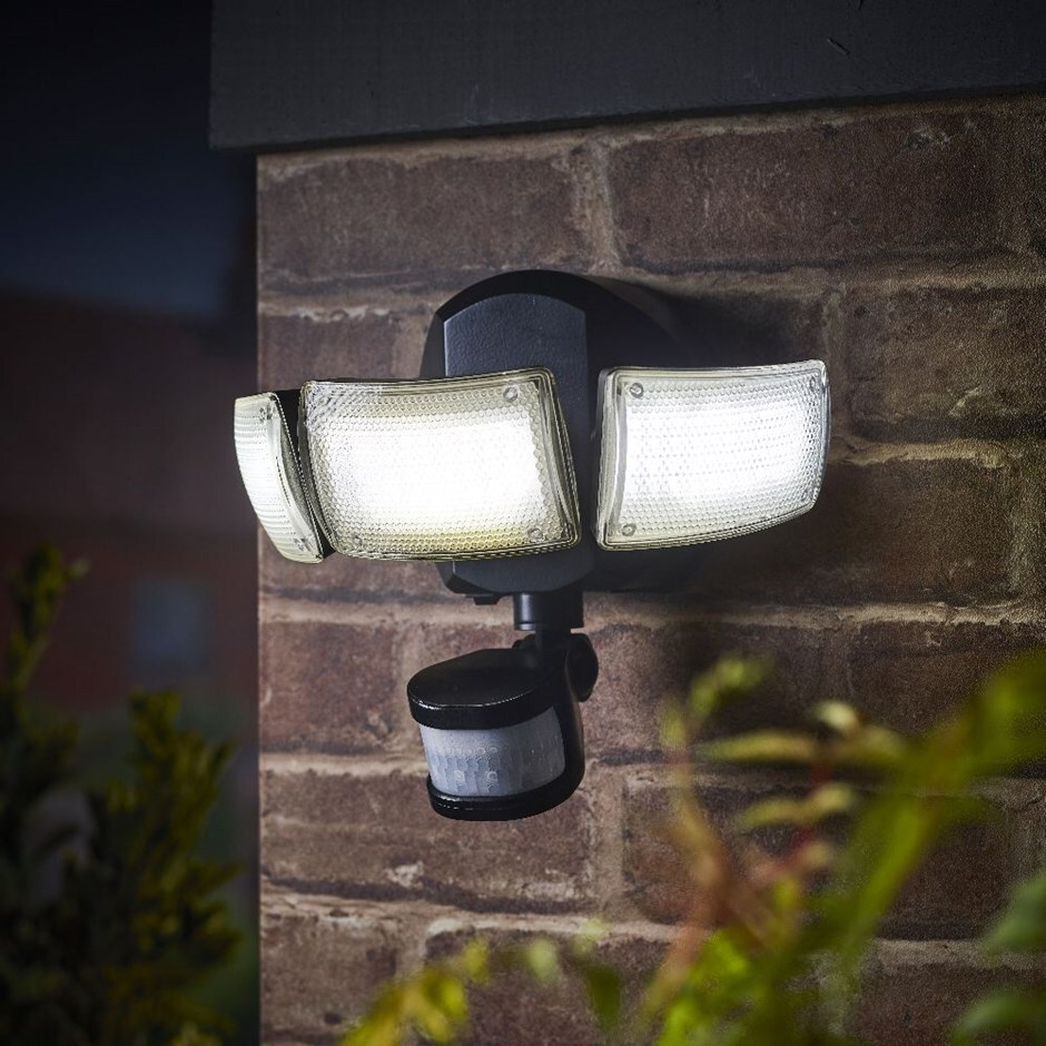 All year round triple security light