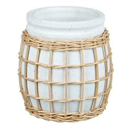Adalyn planter - white