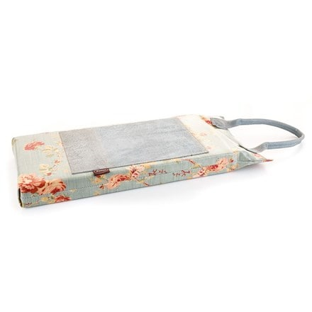 Floral PU and leather kneeler